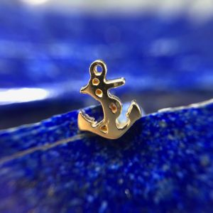 Norvoch 14Kt Yellow gold Anchor